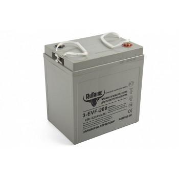 Тяговый гелевый аккумулятор RuTrike 3-EVF-200 (6V220A/H C3)