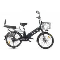Велогибрид GREEN CITY e-ALFA GL Черный